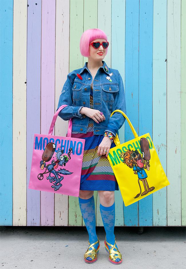 Moschino, Magnum, Swiss Fashionblogger