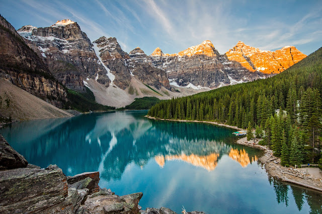 Moraine Lake Canada Most Beautiful Lakes in the World Adventure Travel