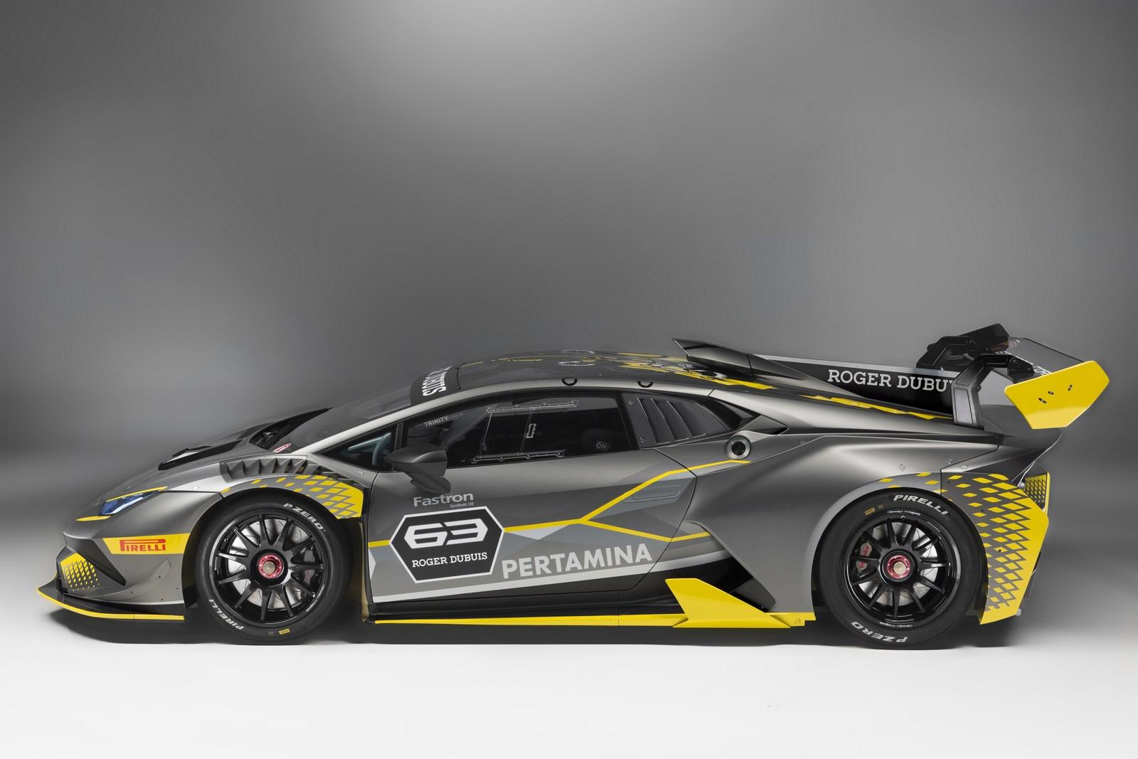 Lamborghini Huracan Super Trofeo EVO Unveiled With
