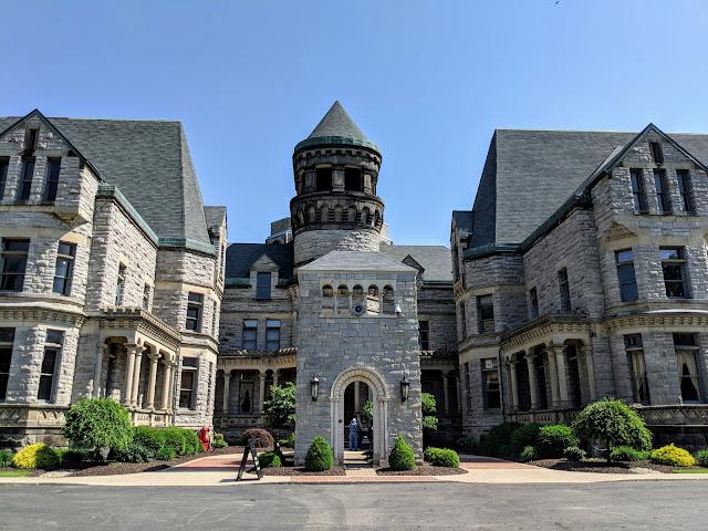 Втеча з Шоушенку: В'язниця штату Огайо. Менсфілд. Огайо (The Ohio State Reformatory. Mansfield, OH)