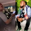America Based Nigerian Uber Driver Make Noise as He Pick Davido at Airport. Video