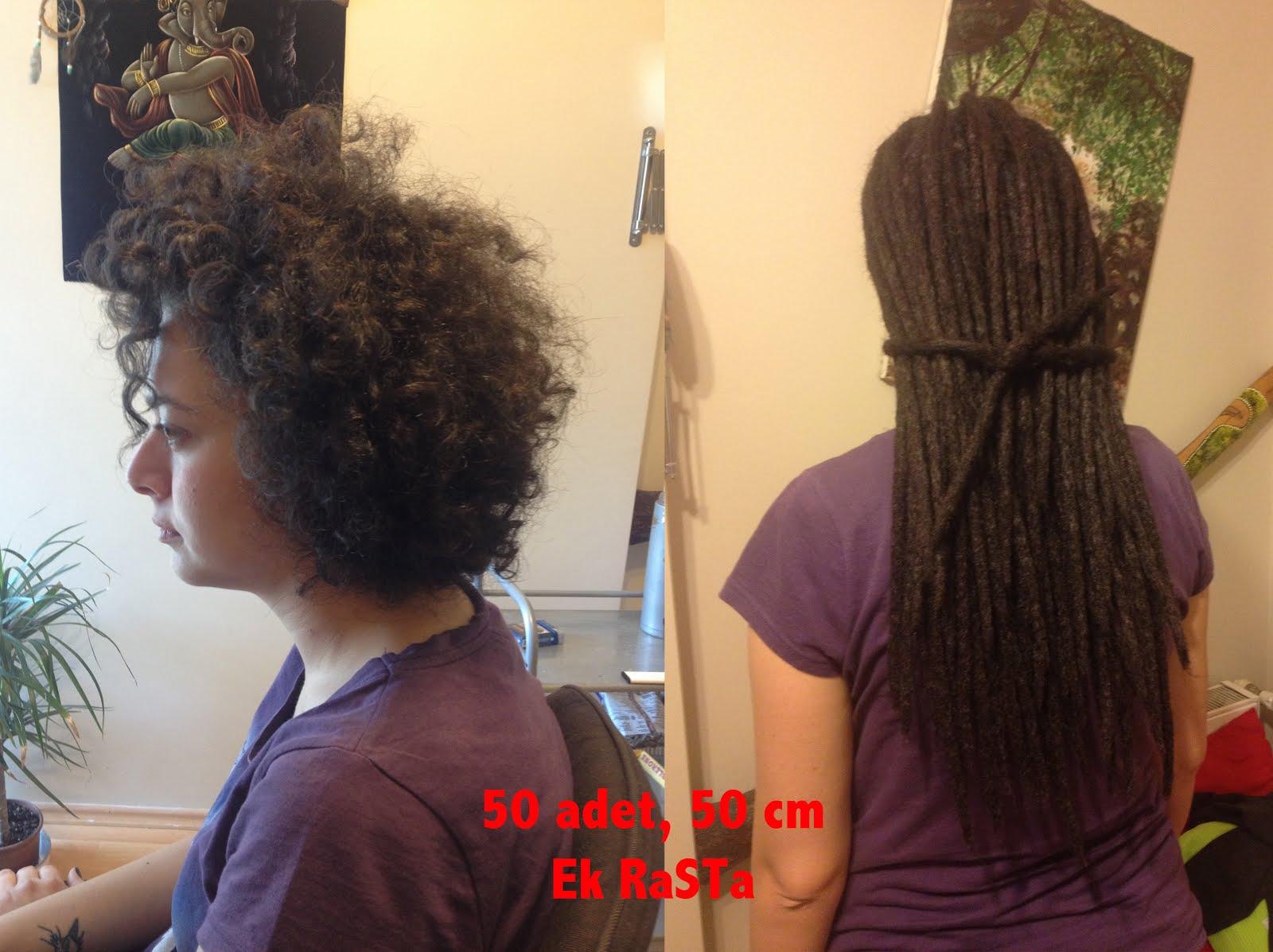 En ilginç rastalı saç modelleri ve bakımı
