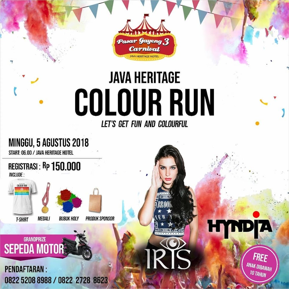 Java Heritage Colour Run • 2018