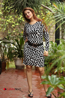 Actress Saloni Latest Pos in Short Dress  0334.JPG
