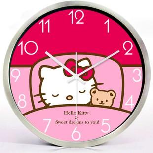 Gambar Jam Dinding Hello Kitty 6