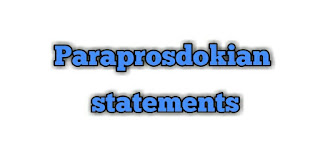Meet 'Paraprosdokian', the rare but often used figure of speech in English