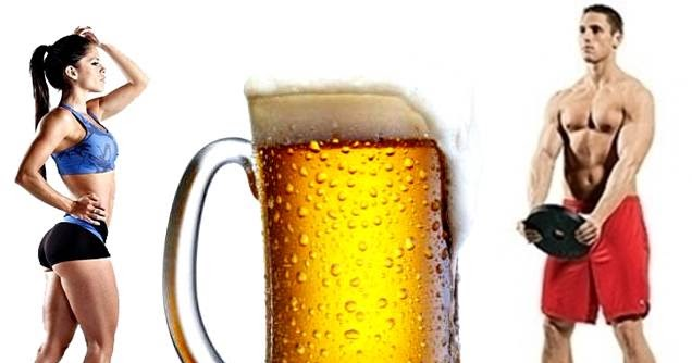 ¿Tomar cerveza después de la rutina de pesas es bueno o malo?