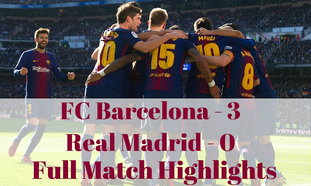 FC Barcelona produced a fine display of attacking football to secure a 3-0 victory. Check out the full match highlights with english commentary