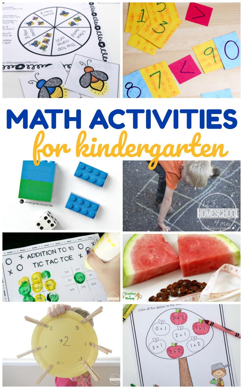 Kindergarten Worksheets and Games: 20 Kindergarten Math ...