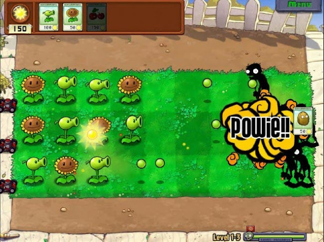 Plantas vs Zombies PC FULL - Captura 1