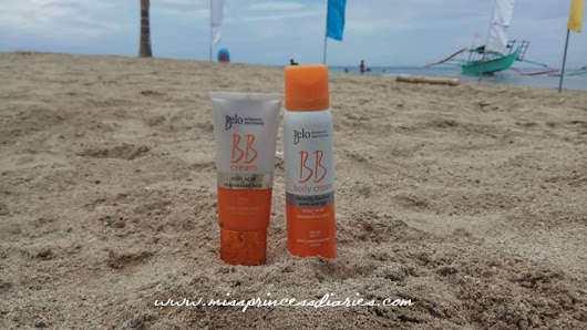 Summer Sunwarriors 2017: Belo BB cream and body cream SPF 50 PA++++