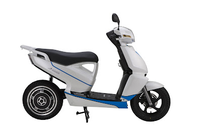 New Terra A4000i Electric Scooter side view