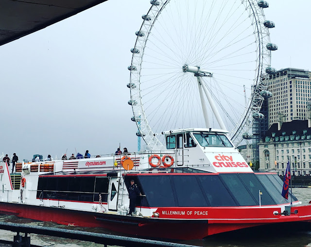 City Cruises boat at Westminster pier