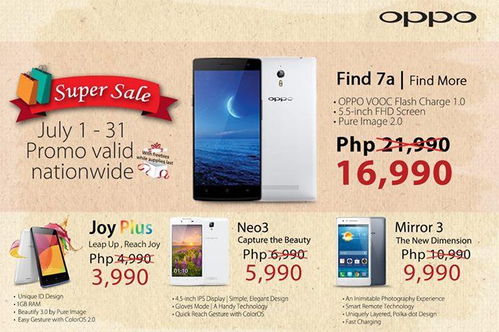 OPPO Super Sale