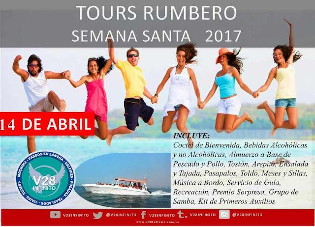 IMAGEN 14  DE ABRIL 2017 TOURS  RUMBERO PLAYERO MOCHIMA