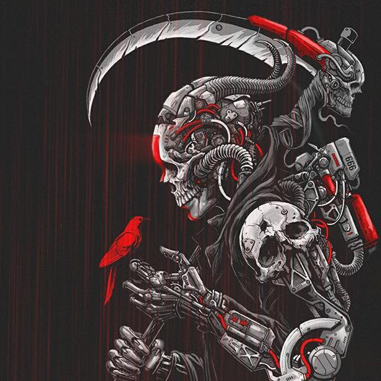 Death Machine Wallpaper Engine