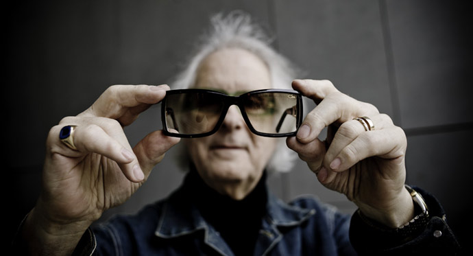 Cari Zalloni, creator of Cazal Eyewear: 1937-2012. Photo: Blende11