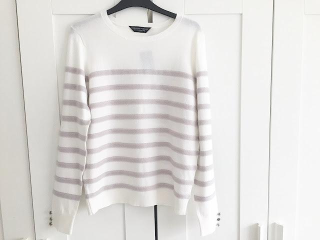 dorothy perkins striped jumper