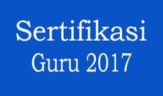 Daftar nama calon peserta sertifikasi guru (sergur) tahun 2017