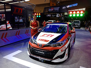 New Yaris Modifikasi Toyota Team Indonesia