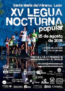 Legua Nocturna Santa Maria del Paramo 2018