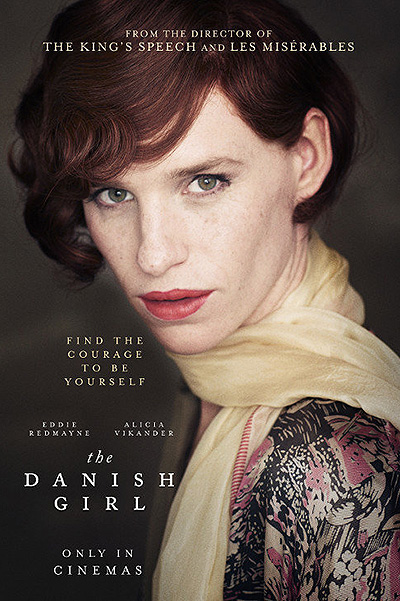 Eddie Redmayne in the first posters The Danish Girl