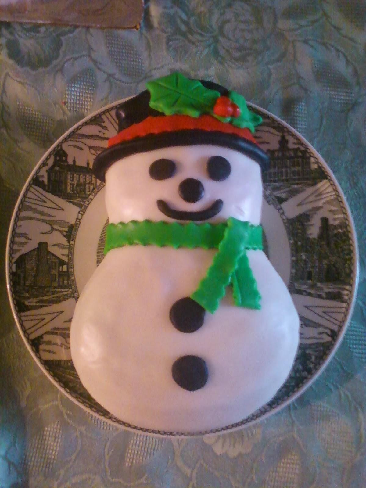 Salleeb S Kitchen Christmas Mini Cake Magic Frosty The