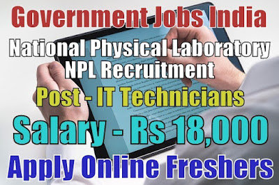 NPL Recruitment 2018