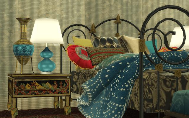 chambre confort sims 4