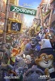 Phi Vụ Động Trời - Zootopia 2016 Poster