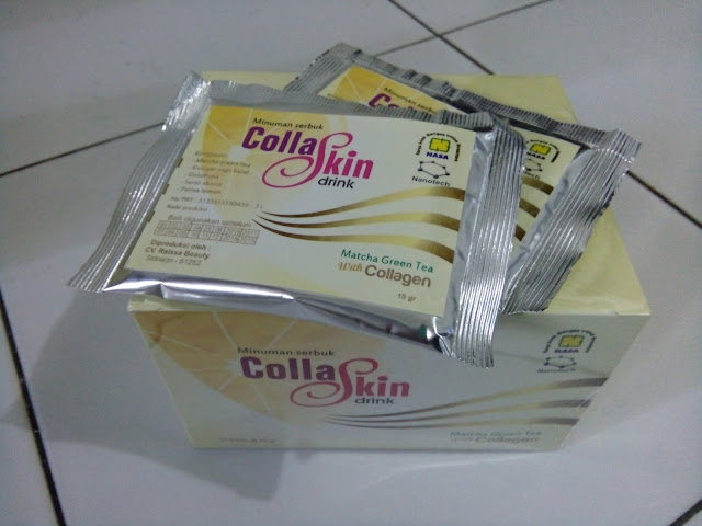 Collaskin Matcha Green Tea Collagen Nasa (Collaskin Drink)