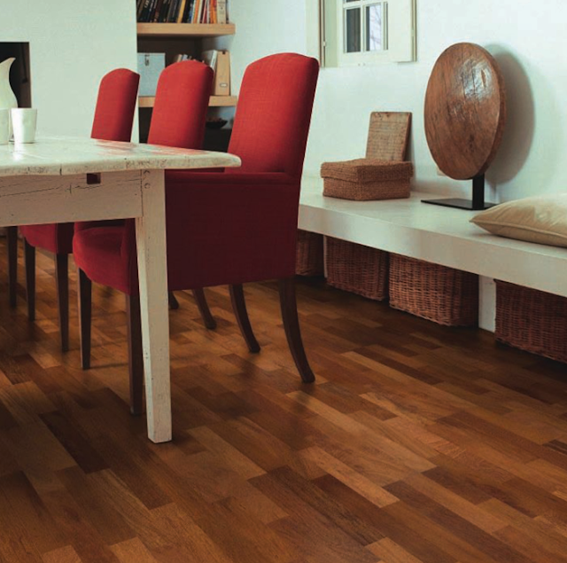Pergo's wood parquet collection Look that leaves an
