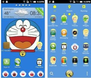 Tema Android Doraemon