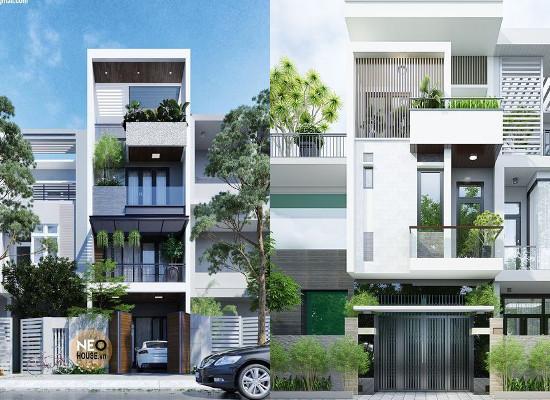 Desain fasade tampak depan rumah minimalis trend tahun ini