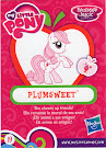 My Little Pony Wave 14 Plumsweet Blind Bag Card