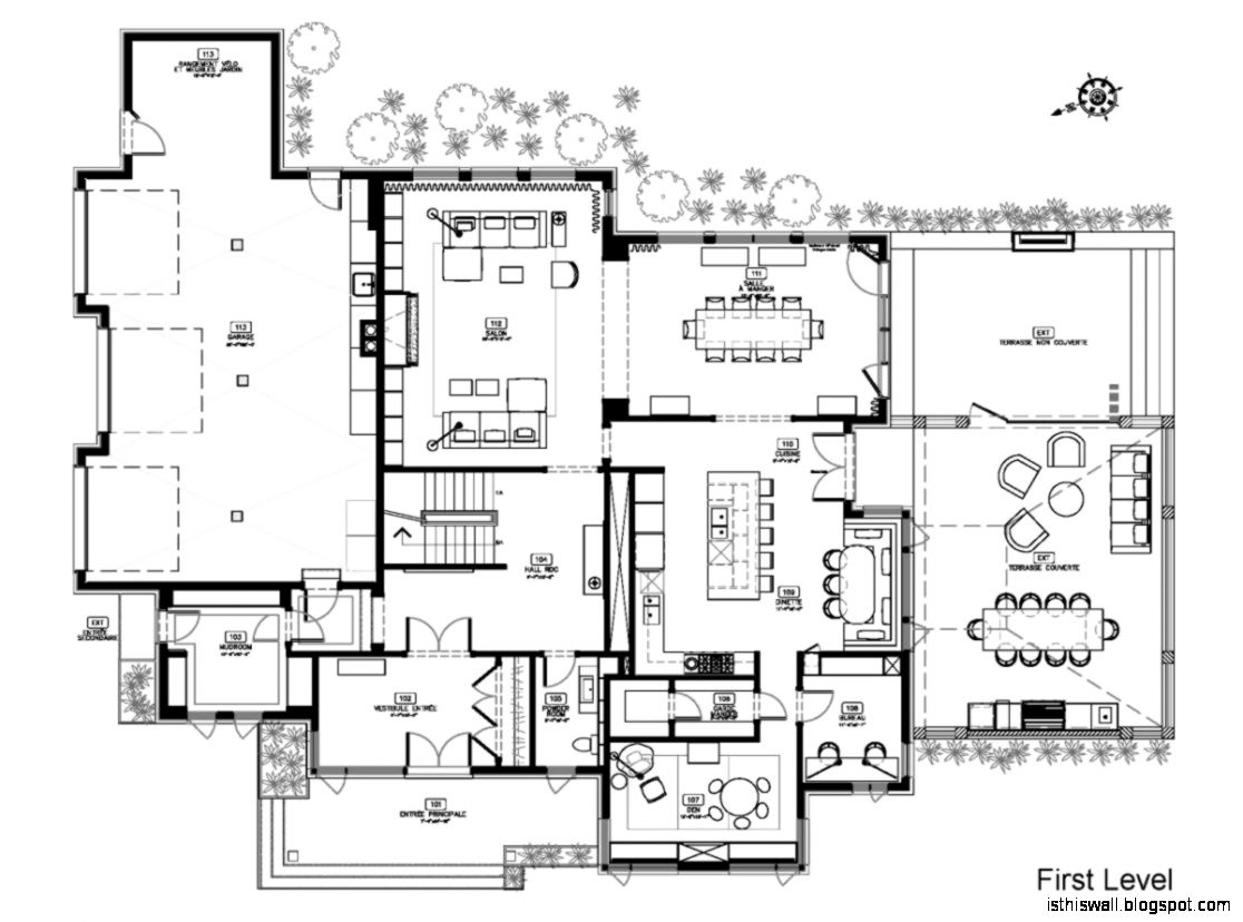 Modern Homes Floor Plans Designs