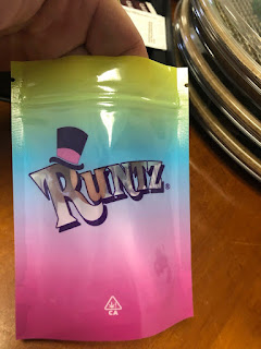 Runtz bag Packaging California Mylar Bags