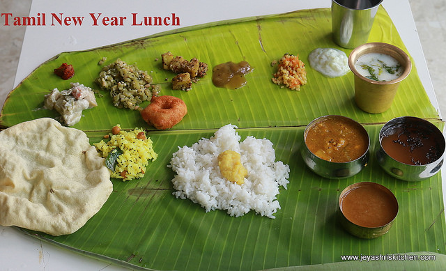 Tamil new year lunch