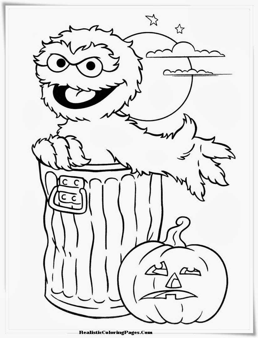 realistic halloween coloring pages | Realistic Halloween Coloring Pages | Realistic Coloring Pages