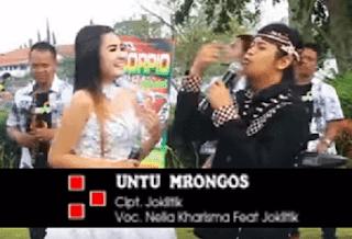 Lirik Lagu Untu Mrongos - Nella Kharisma