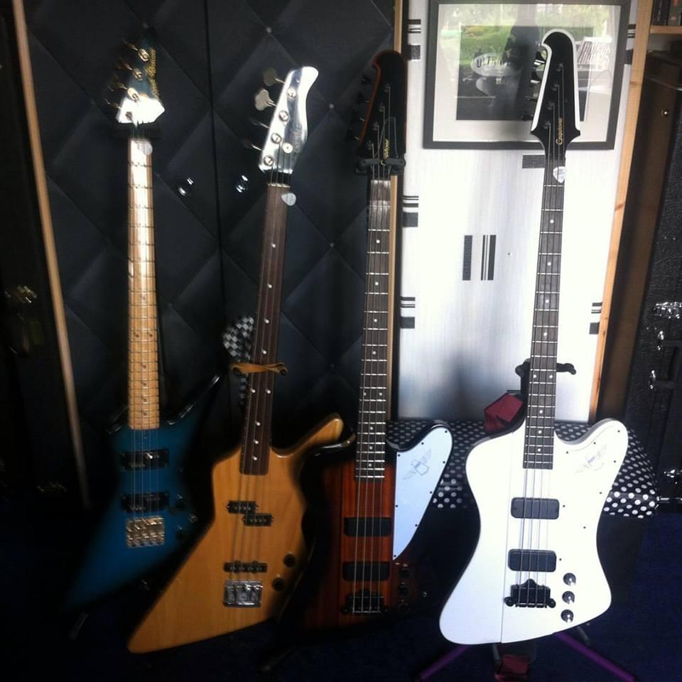 Ian edmundson bass guitars