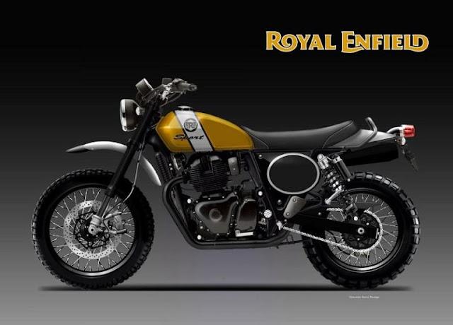 Royal Enfield Scrambler 650