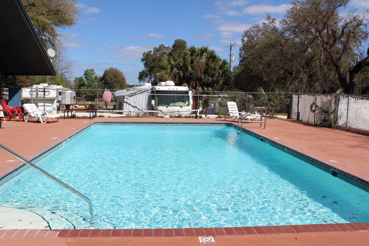 this 25 acre park offers many amenities to make your stay