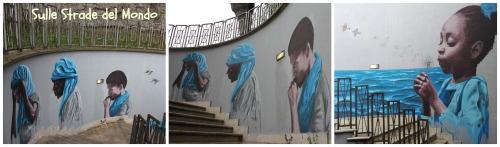 Castel Gandolfo street art