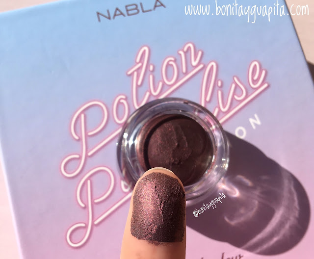 nabla creme shadow rea swatch