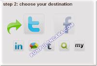 Auto Post ke Facebook dan Twitter