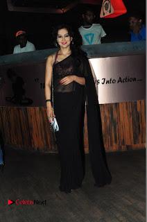 Juliana Nicol Stills in Saree at Pegasus Logo Launch Event