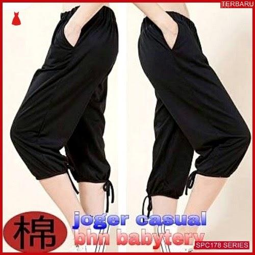 SPC178J38 Joger Casual Terbaru Celana Wanita | BMGShop
