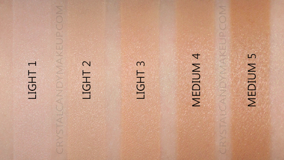 Bâton estompeur teinté Nudies Nudestix Swatches Light Medium MAC