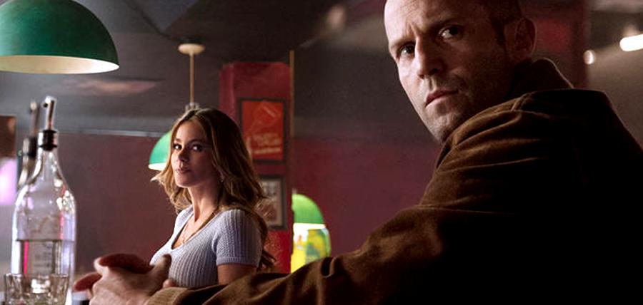 Jason Statham şi Sofia Vergara în filmul Wild Card